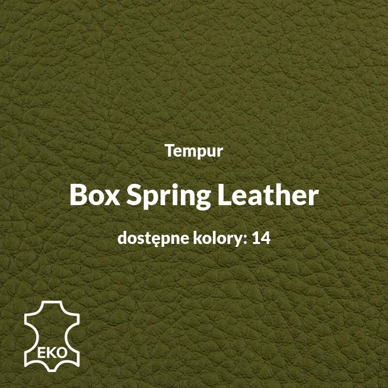 Tempur - Box Spring Leather - Obicia Tempur