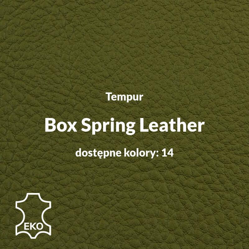 Tempur - Box Spring Leather - Obicia Tempur