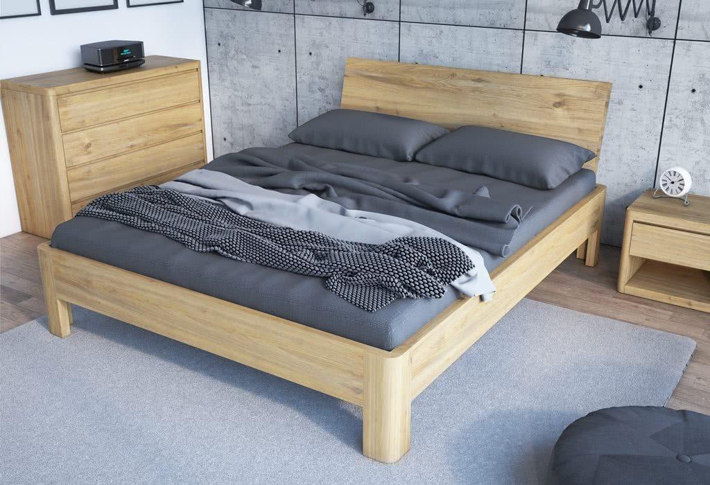 Łóżko drewniane Lago