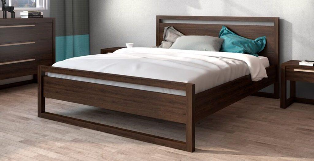 Łóżko Drewniane SANTIAGO