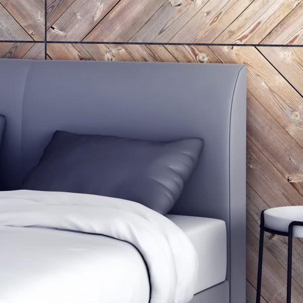 Łóżko kontynentalne Argo wezgłowie