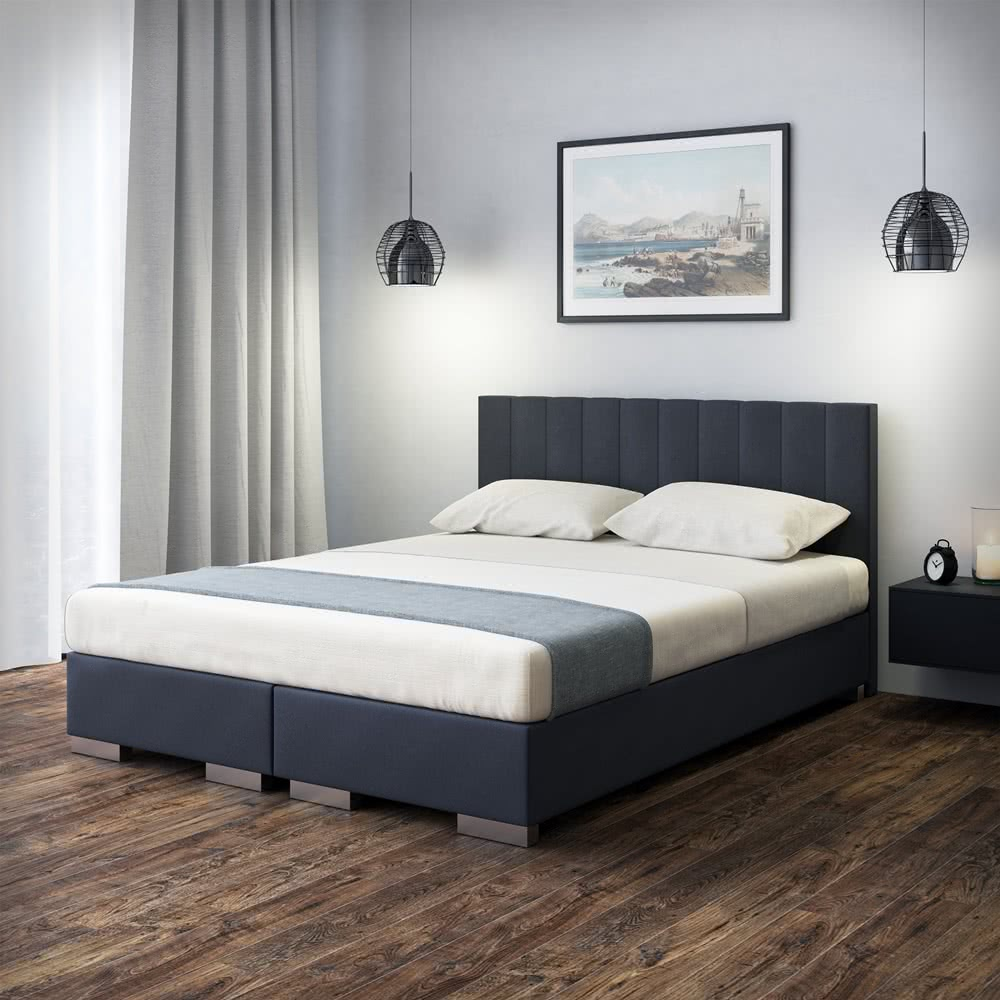 łóżko Kontynentalne Hugo łóżka Do Sypialni Z Pojemnikiem Senpo