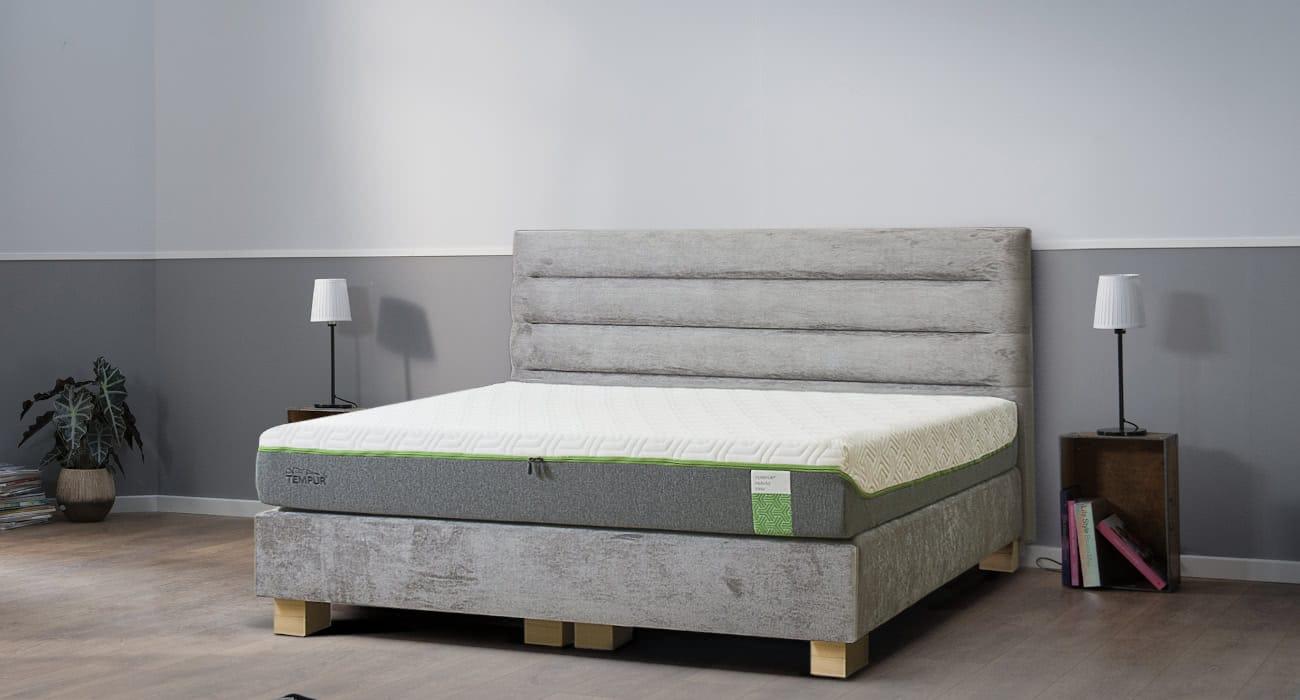 łóżko tailor boxspring sealy