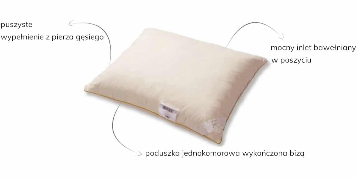 poduszka pierze amz
