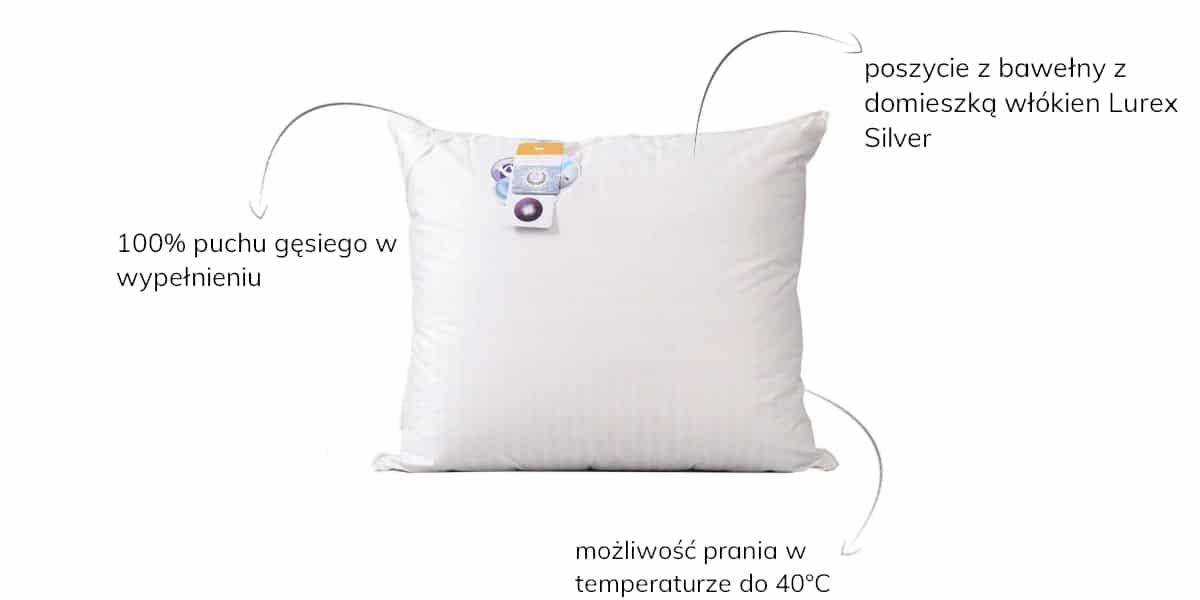 poduszka naturalna amz prestige