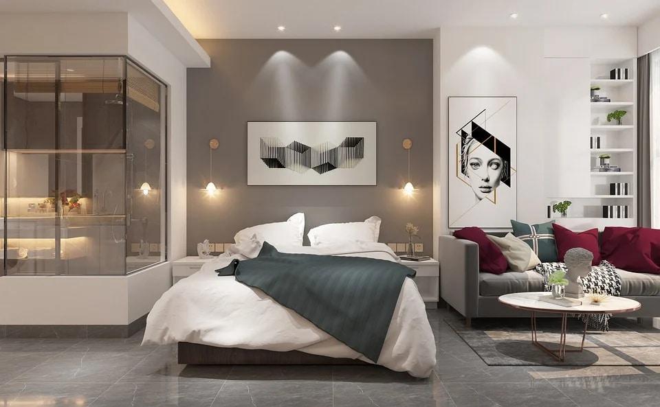 Sypialnia - strefy komfortu