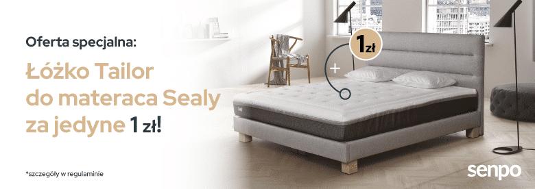 Łóżko Tailor do Sealy