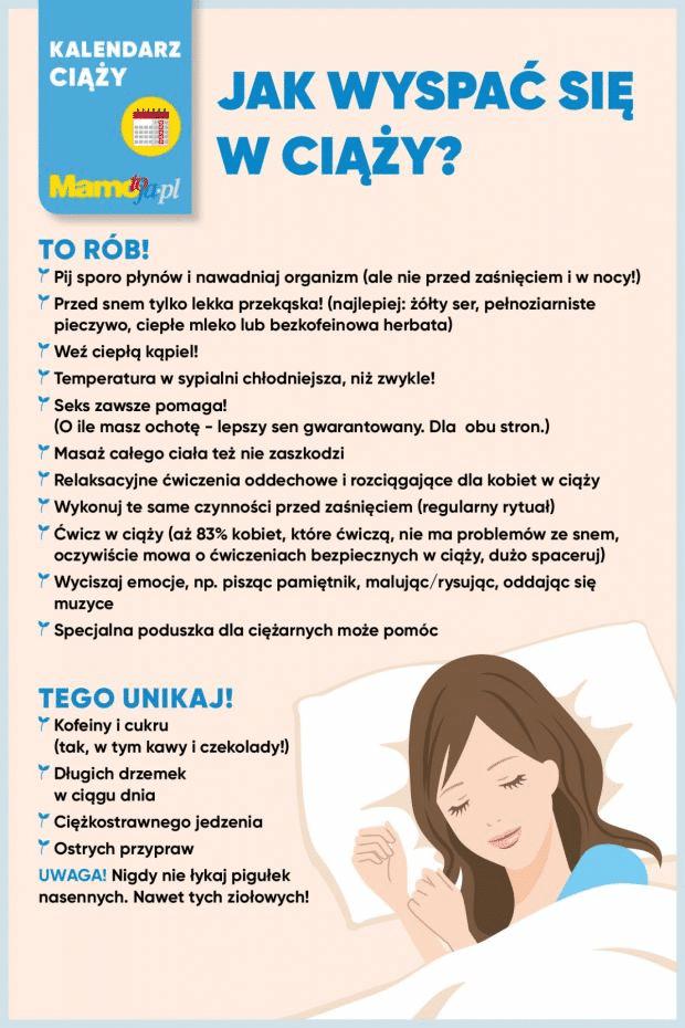 Jak wyspać się wciąży