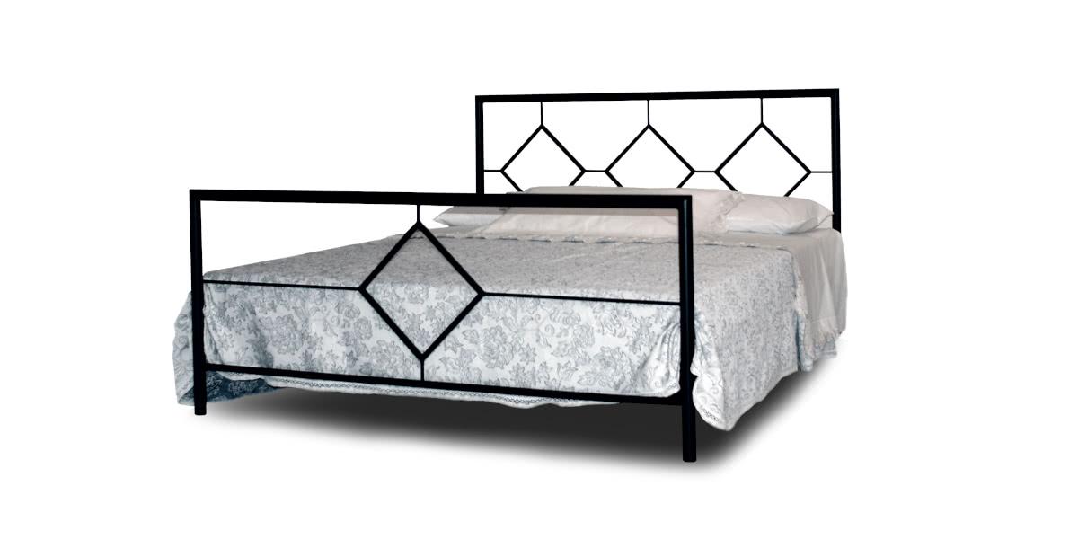 Łóżko Eryka metalowe Camfero