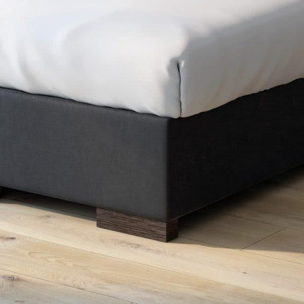 Łóżko kontynentalne Street zagłówek