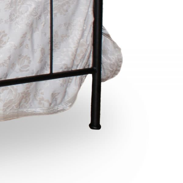 Łóżko metalowe Carmen Camfero nóżka