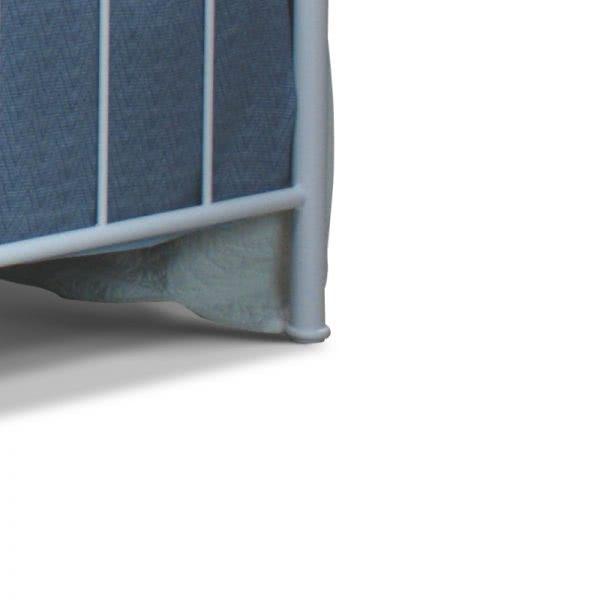 Łóżko camfero metalowe nela