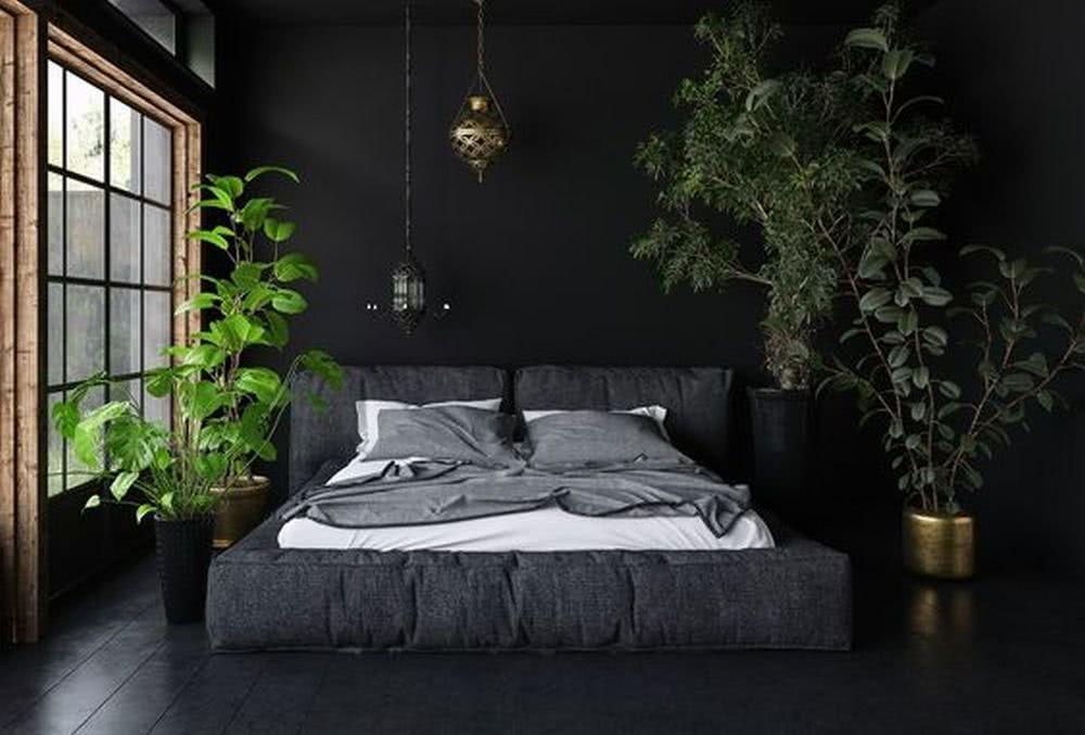 Rośliny wsypialni industrialnej