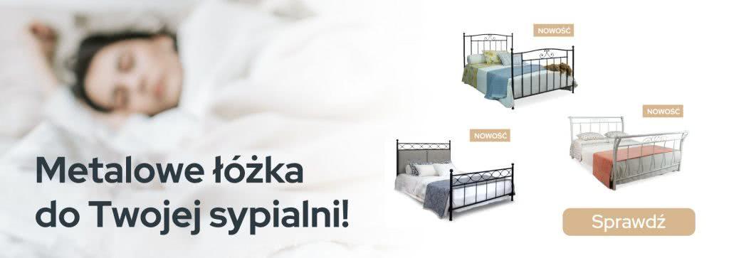 Metalowe łóżka do Twojej sypialni