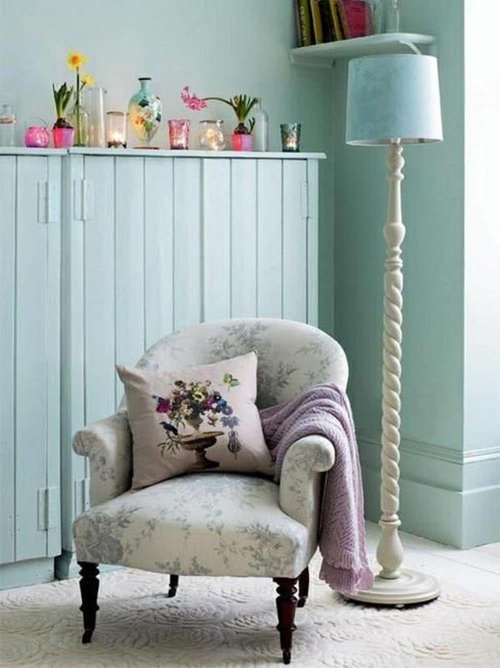 Sypialnia - Fotel wstylu vintage