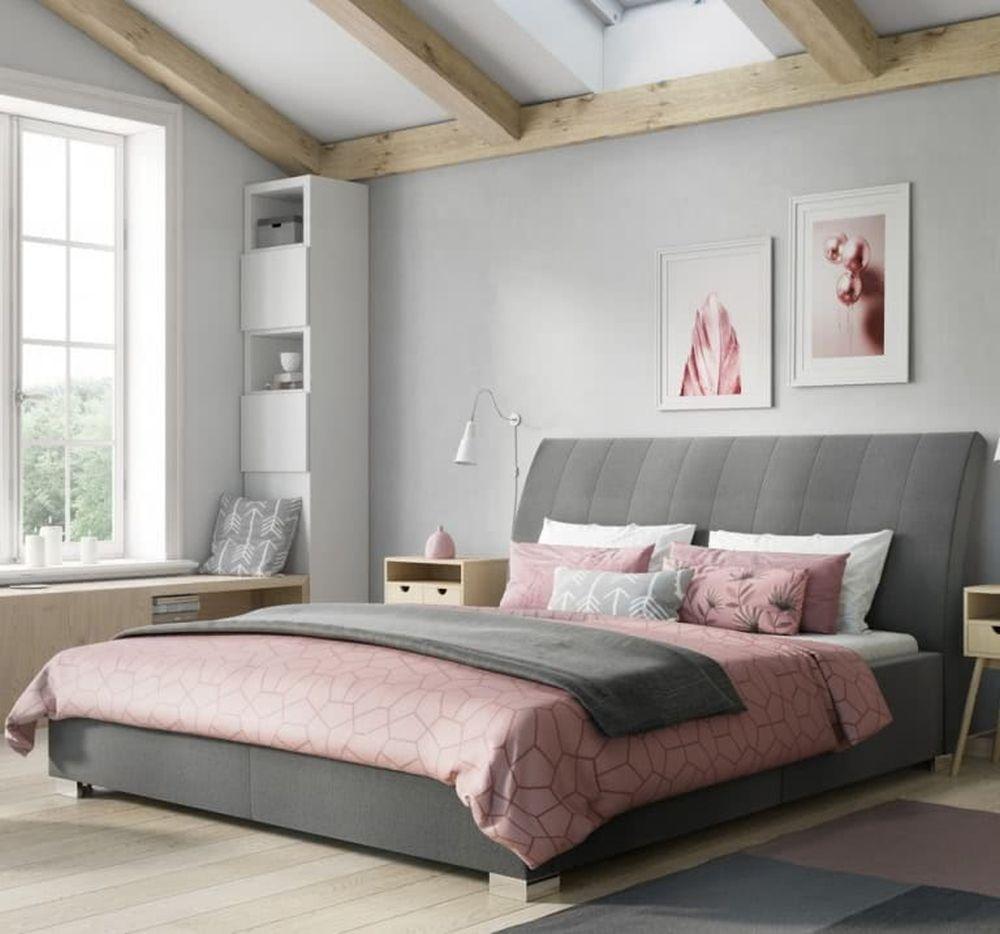 Łóżko wstylu prowansalskim Nova