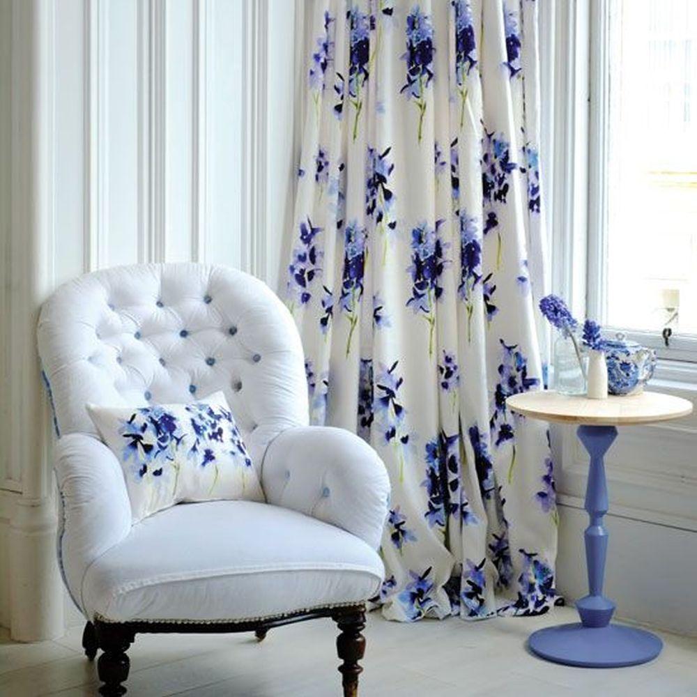 Sypialnia wstylu prowansalskim - tekstylia