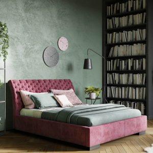 Łóżko tapicerowane Barcelona Senpo