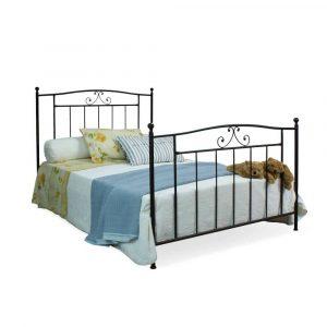 Łóżko metalowe Blanca Camfero