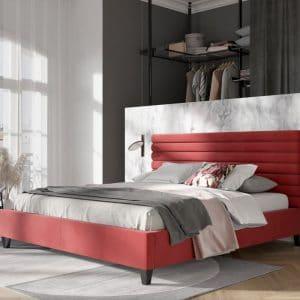Łóżko tapicerowane Falko Senpo