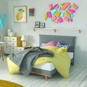 Łóżko Eclectic Hilding kontynentalne