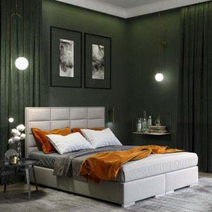 Łóżko Ferera kontynentalne Senpo