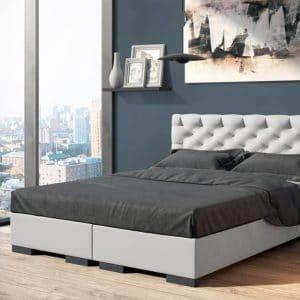 Łóżko tapicerowane Prestige Senpo kontynentalne