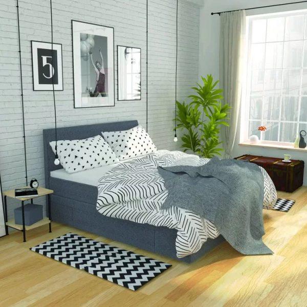 Łóżko Urban Hilding kontynentalne