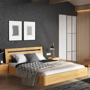 Łóżko drewniane Modern Senpo