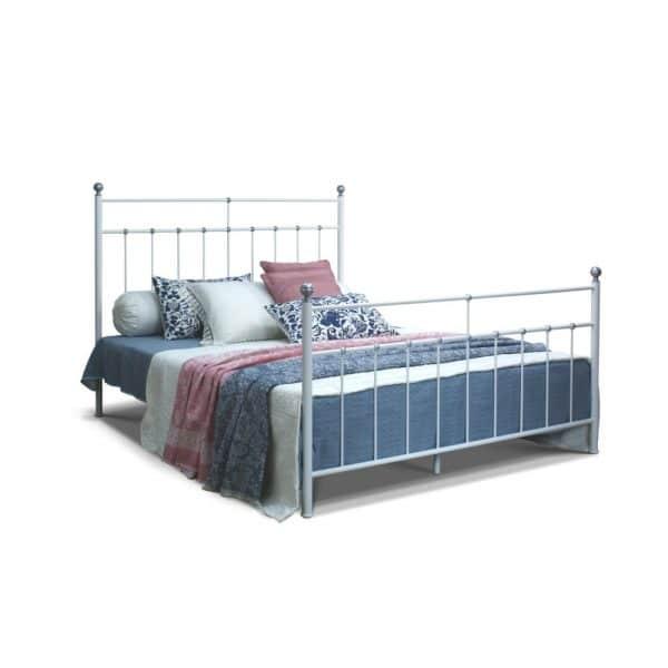 Łóżko metalowe Nela Camfero