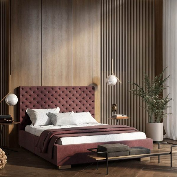 Łóżko tapicerowane Porto Senpo