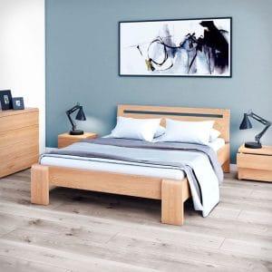 Łóżko drewniane Silvia Senpo