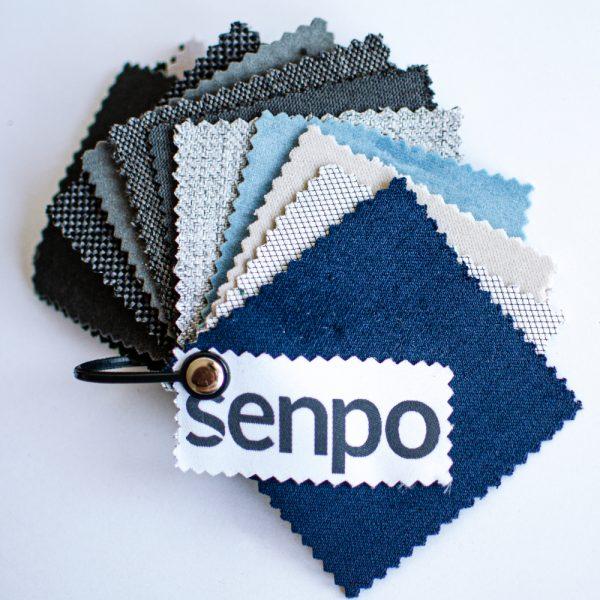 Próbki tkanin obiciowych Senpo