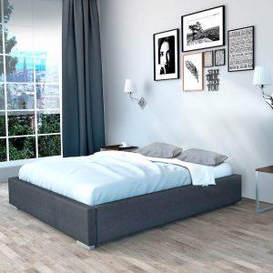 Rama łóżka tapicerowanego