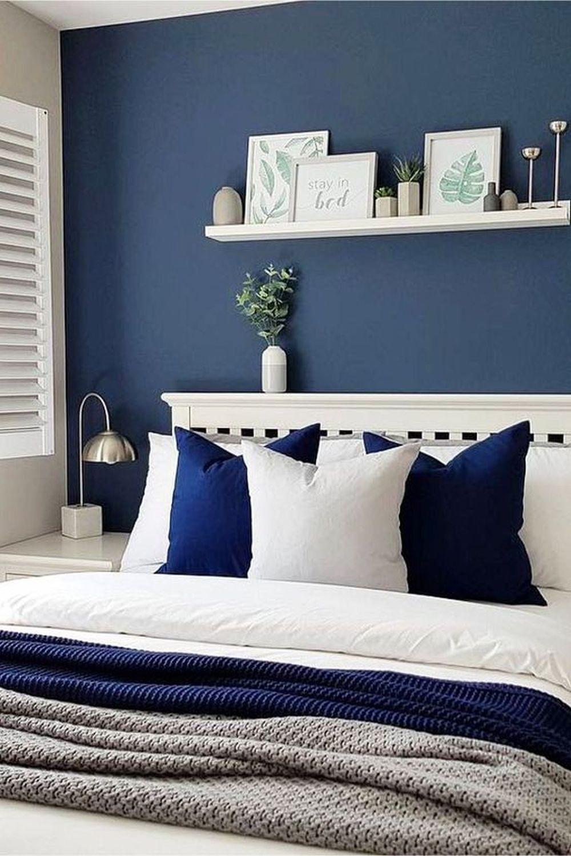 Kolory dosypialni - niebieski