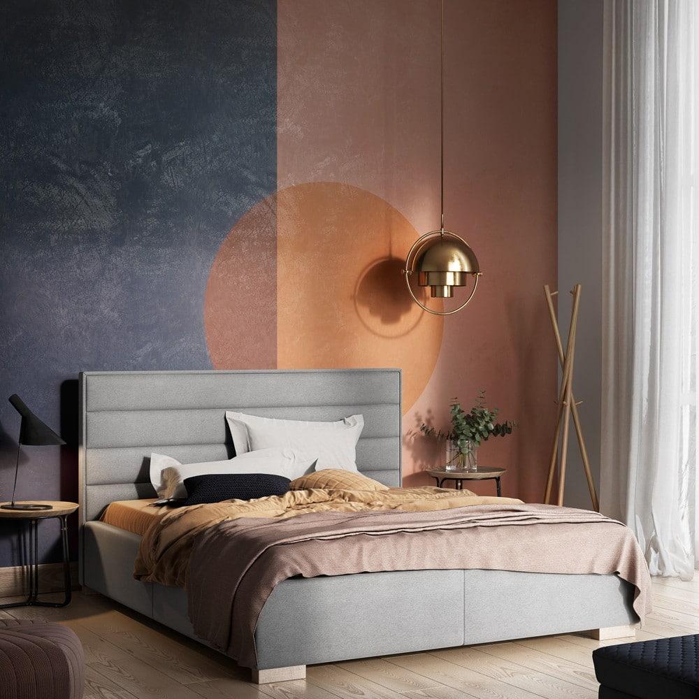Kolory dosypialni - połączenie kolorów