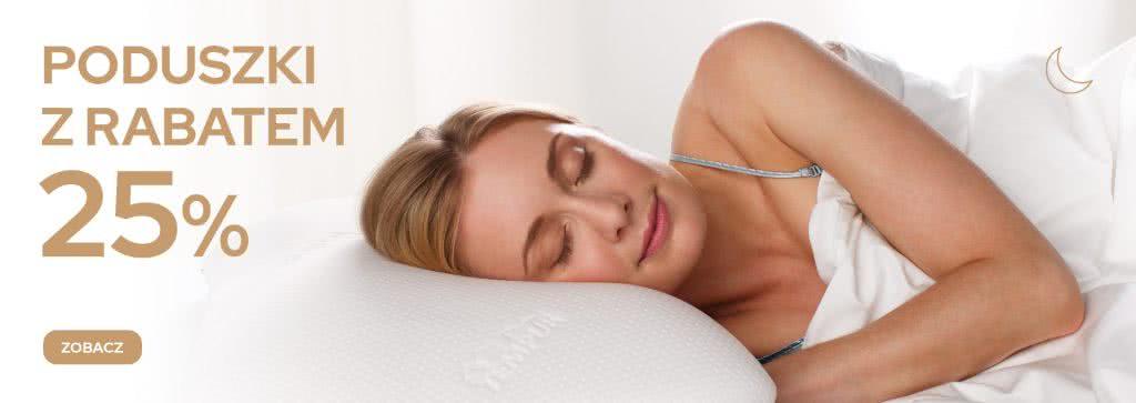 promocja, poduszka, tempur