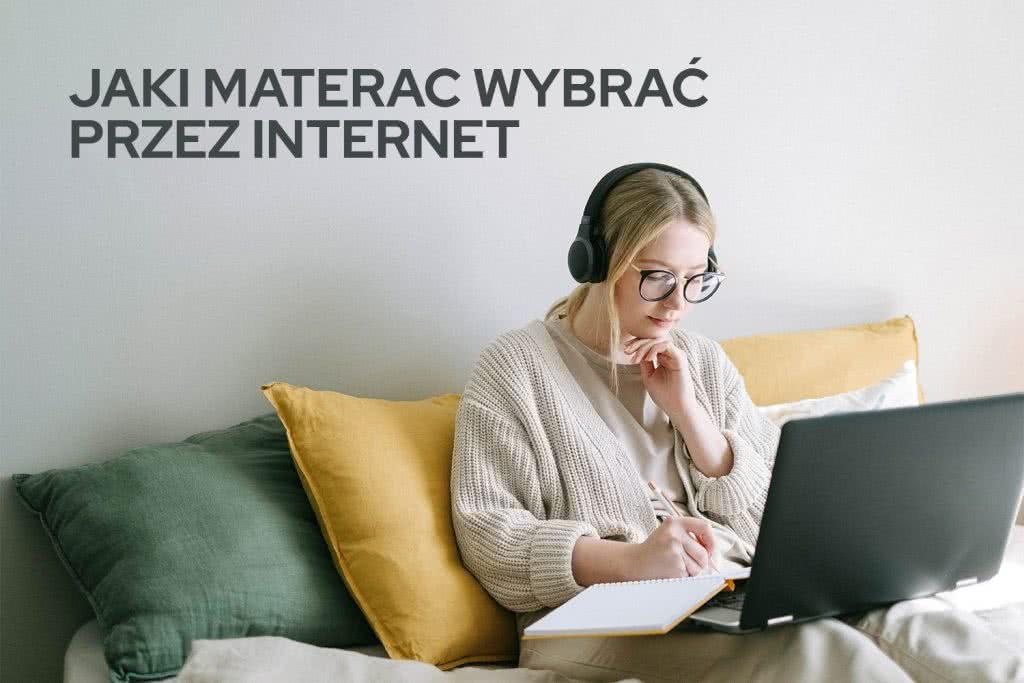 Jak wybrać materac przez internet – poradnik
