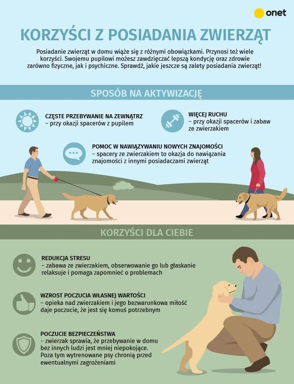 Zalety posiadania zwierząt