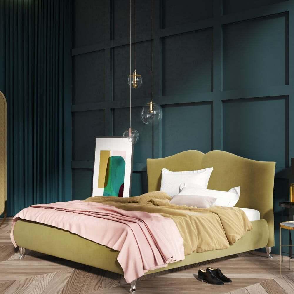 Łóżko tapicerowane Queen Senpo