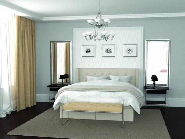 Glamour łóżko od hildinga