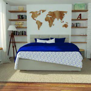 łóżko preppy hilding