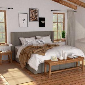 vintage łóżko od hildinga