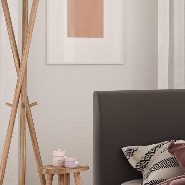 Łóżko tapicerowane Argo kontynentalne Senpo zagłówek