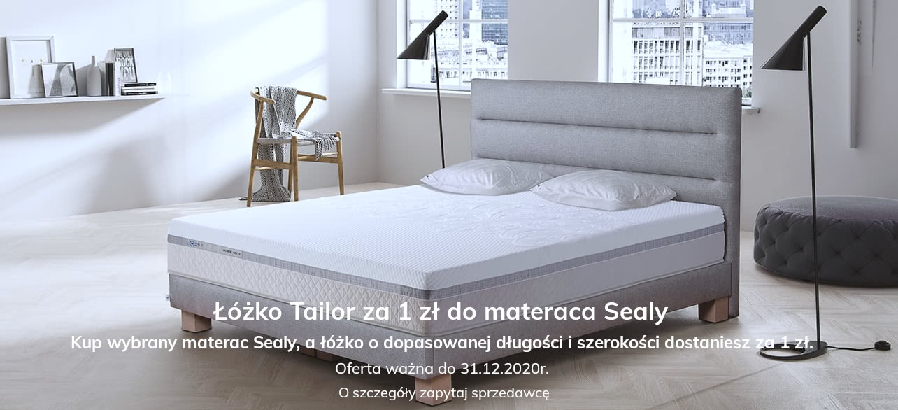 baner sealy łóżko