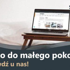 blog mały pokój łóżko
