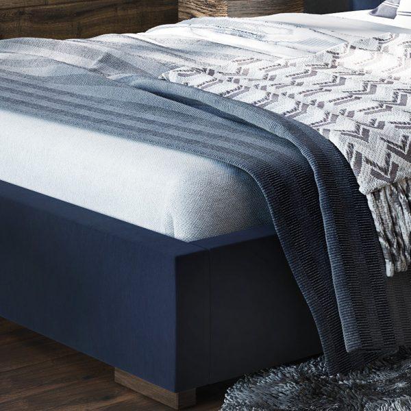Łóżko tapicerowane Next Senpo zanóżek