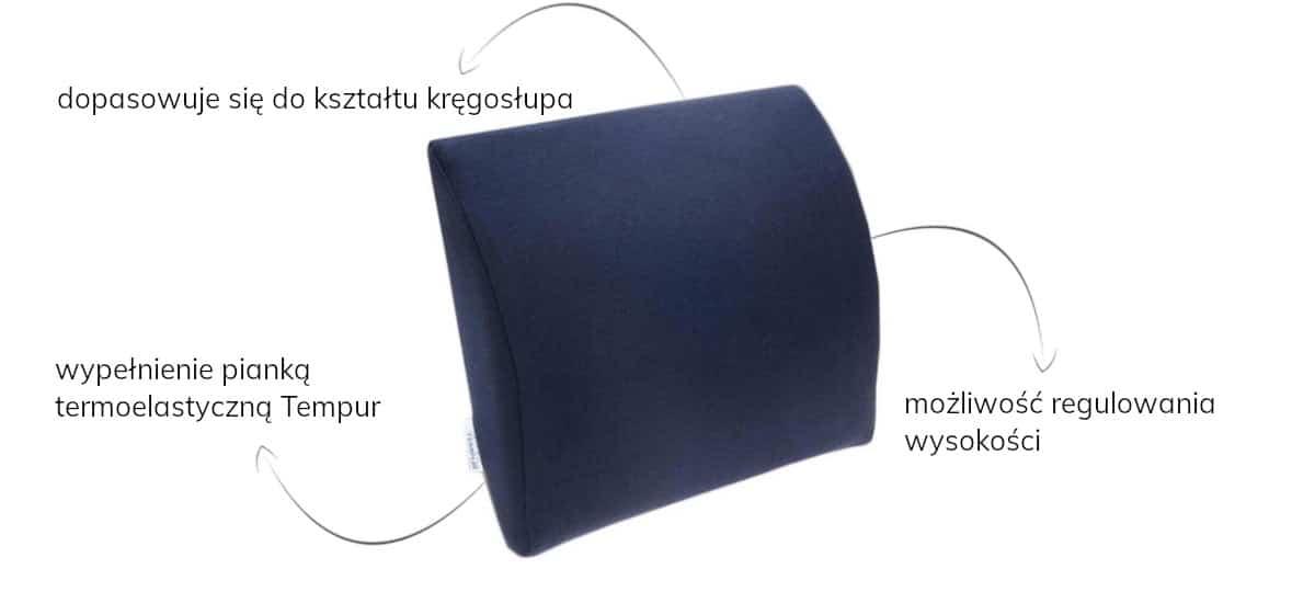poduszka samochodowa tempur