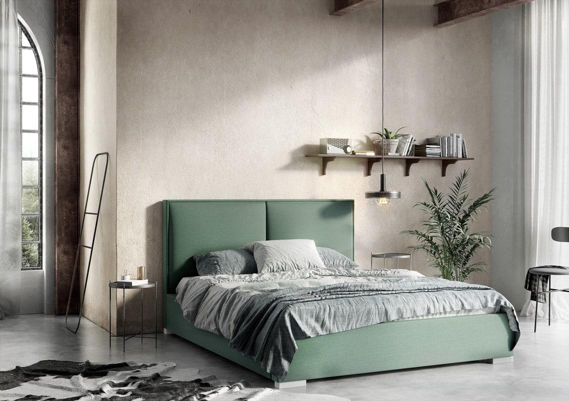 Łóżko Magnolia - tapicerowane