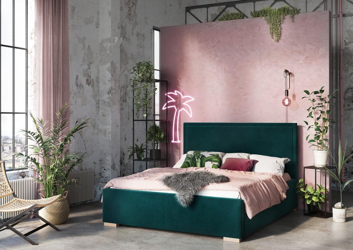 simple łóżko